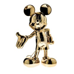 MICKEY WELCOME CHROMED - 30 CM