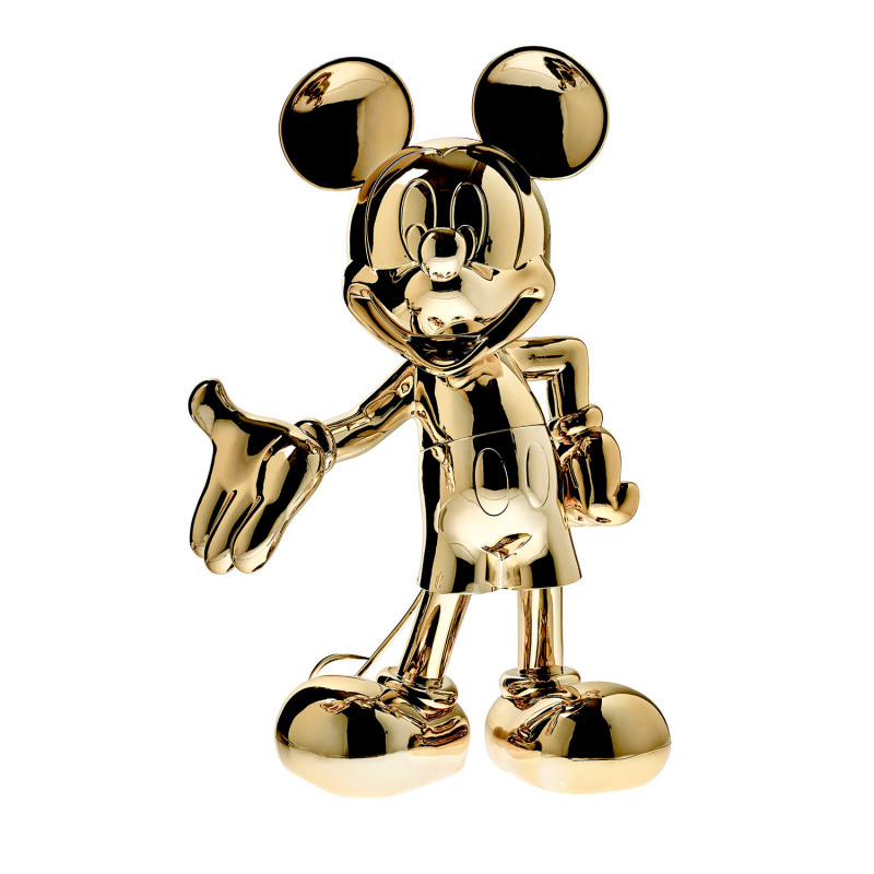 MICKEY WELCOME CHROME - 30 CM OR