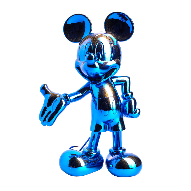 MICKEY WELCOME GALAXY - 30 CM ARGENT & OR