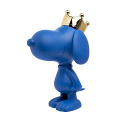 SNOOPY CROWN MATT BLUE - 31 CM