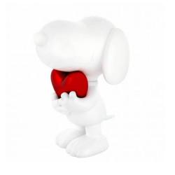 SNOOPY HEART GLOSSY WHITE &...